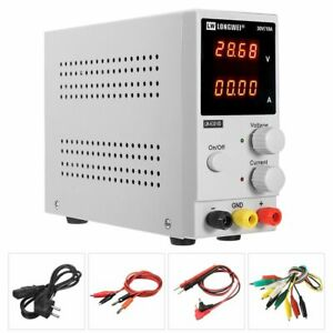 Dc Adjustable Regulator Power Supply With 4 Digit Led Display For Electricity