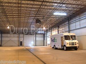 Durobeam Steel 100 x200 x17 Metal Clear Span Building Shop Made To Order Direct
