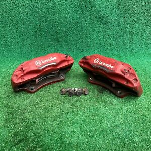 04 08 Acura Tl Type S Brembo Front Calipers Set Oem