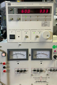 Agilent Hp 6038a Variable Dc Power Supply 0 60v 0 10a 200w Load Tested