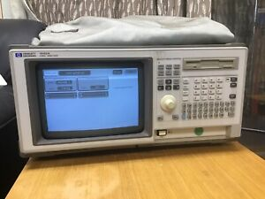 Hp Agilent 1662a 68 Channel Logic Analyzer With Probes And Floppy Disk Tested