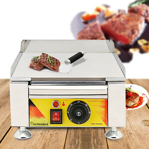 Flat Top Griddle Gas Grill Breakfast Maker Outdoor Camping Cooking Bbq Usa