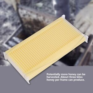 7 X Comb Beehive Auto flowing Clear Honey Frames Beekeeping Harvesting Tubes Kit