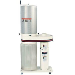 Jet 708642ck Dust Collector With 2 Micron Canister Filter 1 Hp 650cfm