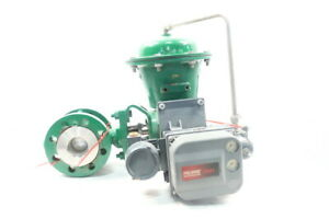 Fisher Type V300 Pneumatic Steel Flanged Control Valve 2in 300