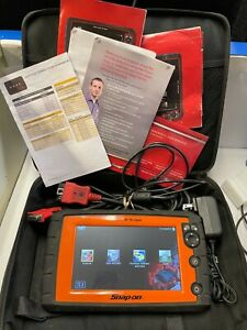 Snap On Solus Edge Eesc320 Wi Fi Touch Screen Professional Automotive Scanner