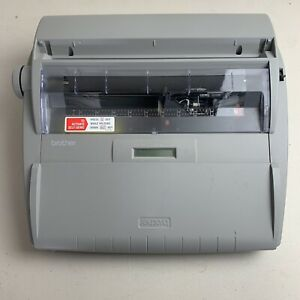 Brother Sx 4000 Daisywheel Electronic Lcd Digital Display Typewriter Tested