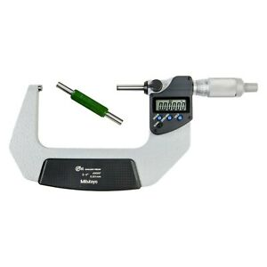 293 Series 3 To 4 Sae Metric Digital Coolant proof Outside Micrometer