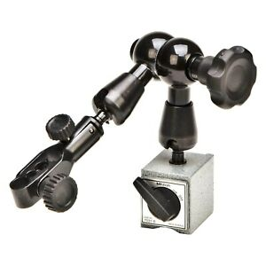 Mitutoyo 7031b 7 Series Universal Magnetic Stand W Mechcanical Locking System