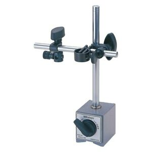 Mitutoyo 7011bn 7 Series Magnetic Stand For Fine Adjustment