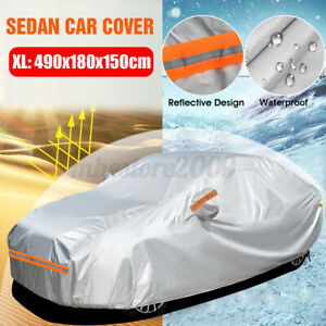 Car Cover Waterproof Sun Uv Snow Rain Resistant All Weather Sedan Protection Usa Fits 1968 Mustang