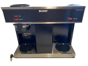 Bunn Vps Black Ltd Sw 12 cup Pourover Commercial Coffee Brewer Maker 3 Warmers