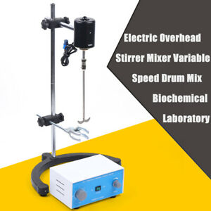Electric Overhead Stirrer Mixer Corrosion Resistance For Epidemic Prevention120w