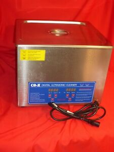 Co z 15l Professional Ultrasonic Cleaner W Digital Timer Briefly Used