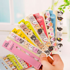Cute Cartoon Memo Pad Animals Paper Sticky Notes Writing Pads School Stationeh2