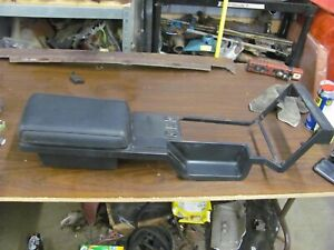 82 92 Chevy Camaro Iroc Z Rs Z28 Upper Center Console Black Solid Oem 14031711