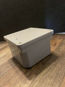 Scepter 6 X 6 X 4 Pvc Molded Electrical Junction Box