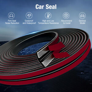 Car Windshield Weather Seal Rubber Trim Molding Cover 6 Feet For Honda Models Us