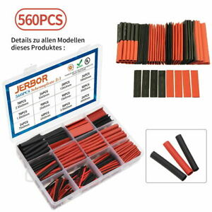 560pcs 2 1 Heat Shrink Tubing Tube Sleeving Wrap Wire Cable Insulated Assorted