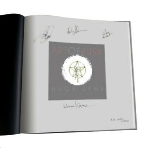 Art Rush Neil Peart Geddy Lee All 3 Signed Autograph Tourbook Poster L.A. Forum $1750.00
