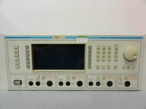 Marconi Instruments 2026 Multisource 10 Khz 2 4 Ghz Options Fitted 03 04 Does