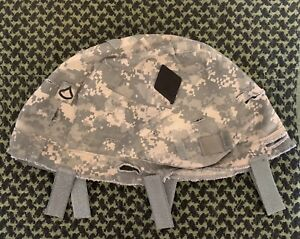 US Army PFC 101st Combat Aviation Brigade Patched UCP ACH MICH Helmet Cover L XL $49.99