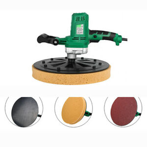 New 220v Electric Concrete Cement Mortar Trowel Wall Smoothing Polishing Machine
