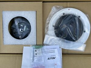Pelco P1220 fwh0 2 Megapixel Network In ceiling Indoor Dome Cam 20x Lens Smoke
