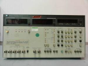 Hp 4192a Lf Impedance Analyzer 5hz 13mhz Turns On No Display Appears