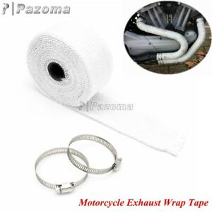 Car Motorcycle Exhaust Wrap Pipe Header Heat Wrap Exhaust Thermal Wrap Tape Roll