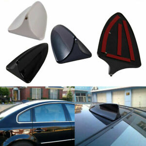 Car Shark Fin Dummy Style Antenna With Decoration Fake Light For Bmw Audi Toyota