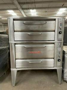 This Blodgett 901 911 Double Deck Gas Oven