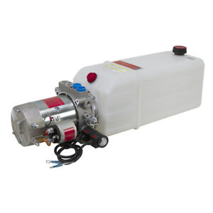 12 Volt Dc Hydraulic Power Pack Double Acting 9 12851
