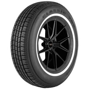 4 P215 70r15 Vercelli Classic 787 97s Whitewall Tires
