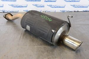 2005 06 Acura Rsx Type s K20z1 2 0l Oem Exhaust Muffler dent scratches 4506