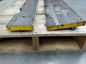 48 Long Press Brake Die Punch Mount Plate Upper And Lower
