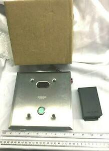 Hydrotek Panel Assembly Concealed Toilet Urinal Flush Panel Possible 8000c New