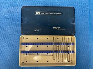 Lot Of 10 Stryker Tps Saber Soft Touch 5700 054 001 Fluted Burs Round Bur