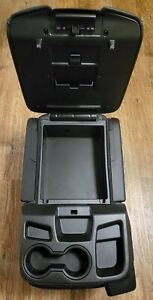 2020 Chevrolet 2500 Hd Oem Center Console Jump Seat Black Leather New