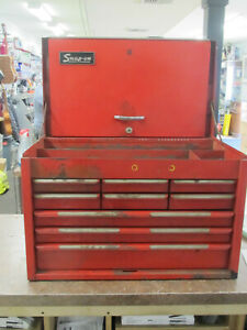 Vintage Snap On 9 Drawer Tool Chest Box Cabinet Kra 59