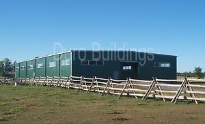 Durobeam Steel 100 x100 Metal clear Span Riding Arena I beam Buildings Direct