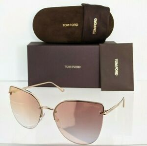Brand New Authentic Tom Ford Sunglasses Ft Tf 0652 33z Tf652 Ingrid 02 60mm