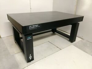 Crated Newport 4 X 6 Integrity 2 Optical Table Adjustable Height Rigid Bench