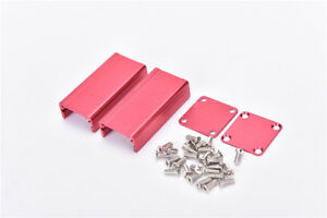 Extruded Aluminum Box Red Enclosure Electronic Project Case Pcb Diy 50 2gkwixivi