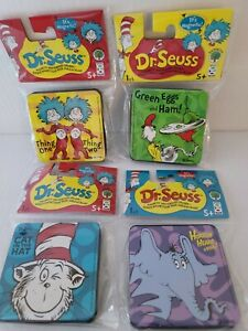 Dr Seuss lot Of 4 White Board Erasers