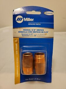 Miller 050622 Nozzle 5 8 Orifice Xr And Spoolmatic 15 30a Guns Free Shippin