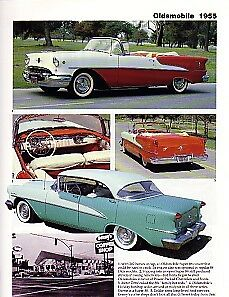 1955 Oldsmobile 98 Starfire Convertible 88 Article Must See