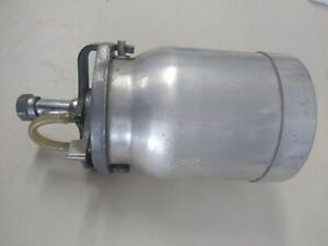 Binks 1qt Aluminum Canister Cup Used Great Value look