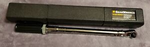 New Gearwrench 85056 3 8 Drive Flex Head Micrometer Torque Wrench W Case Usa