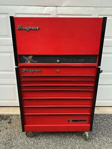 Snap On Toolbox Kr 637 Kr 657 Combo Tool Chest Snap On Tool Box Roll Cabinet